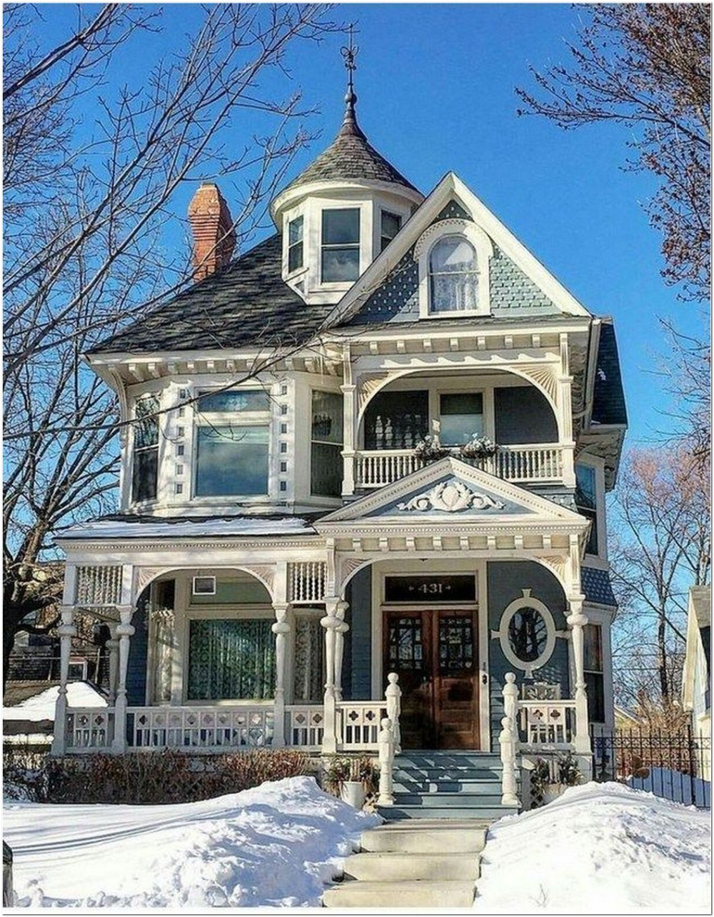 92 Dream Home Ideas Home Decorating Ideas And Interior Design 22 In 2020 Victorian Homes Exterior Cottage House Exterior House Architecture Design