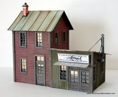 Carolina Craftsman Kits O 1610O Provisions-Kit | O Scale