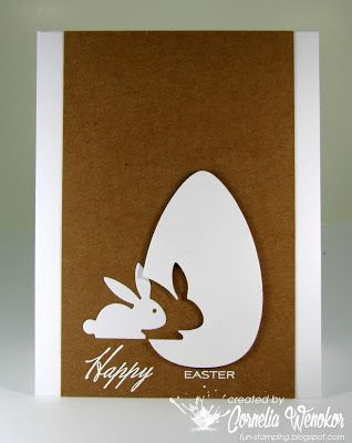 Photo of Stempel Spass: Easter Egg and Bunny