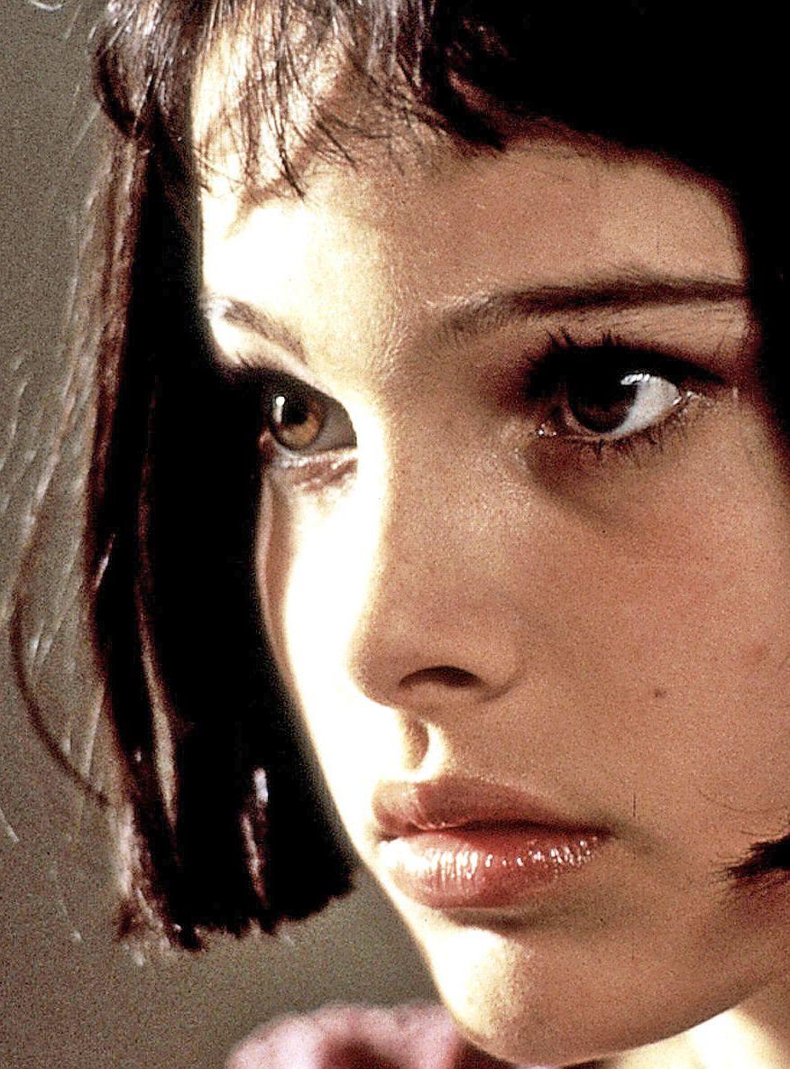 "Natalie Portman as Mathilda in ""The Professional"""