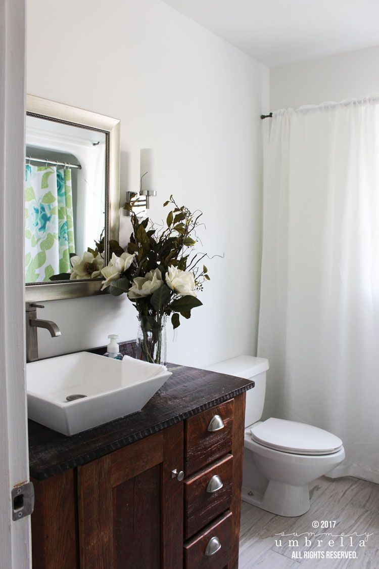 Before and After Guest Bathroom | Room