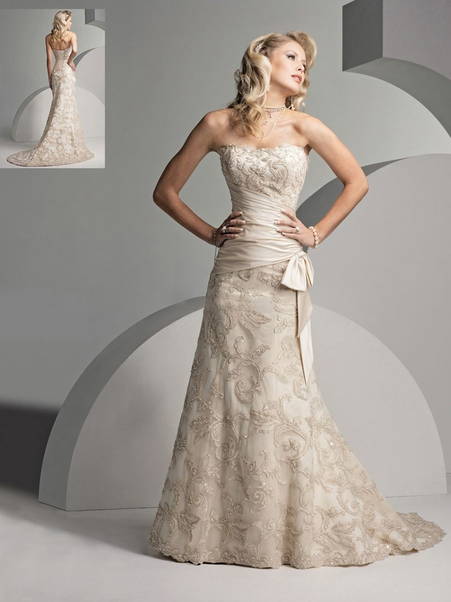 Strapless and backless wedding dress  sottero and midgley  Style  Pinterest  Backless wedding Wedding