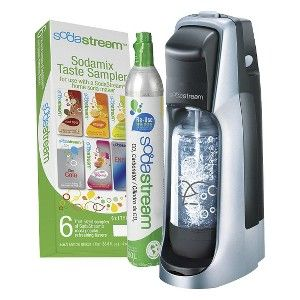 Target Mobile Site - SodaStream Fountain Jet Black/Silver Soda Maker Starter Kit