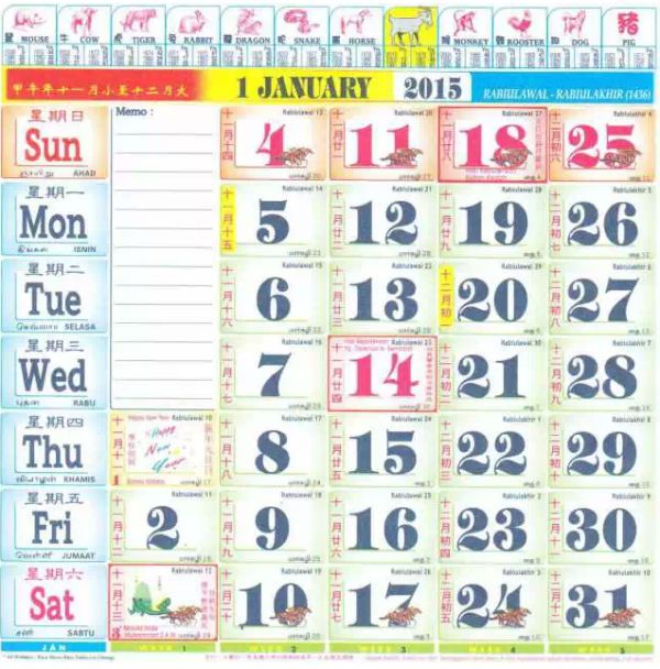 2015 Calendar Projects To Try Pinterest Blog