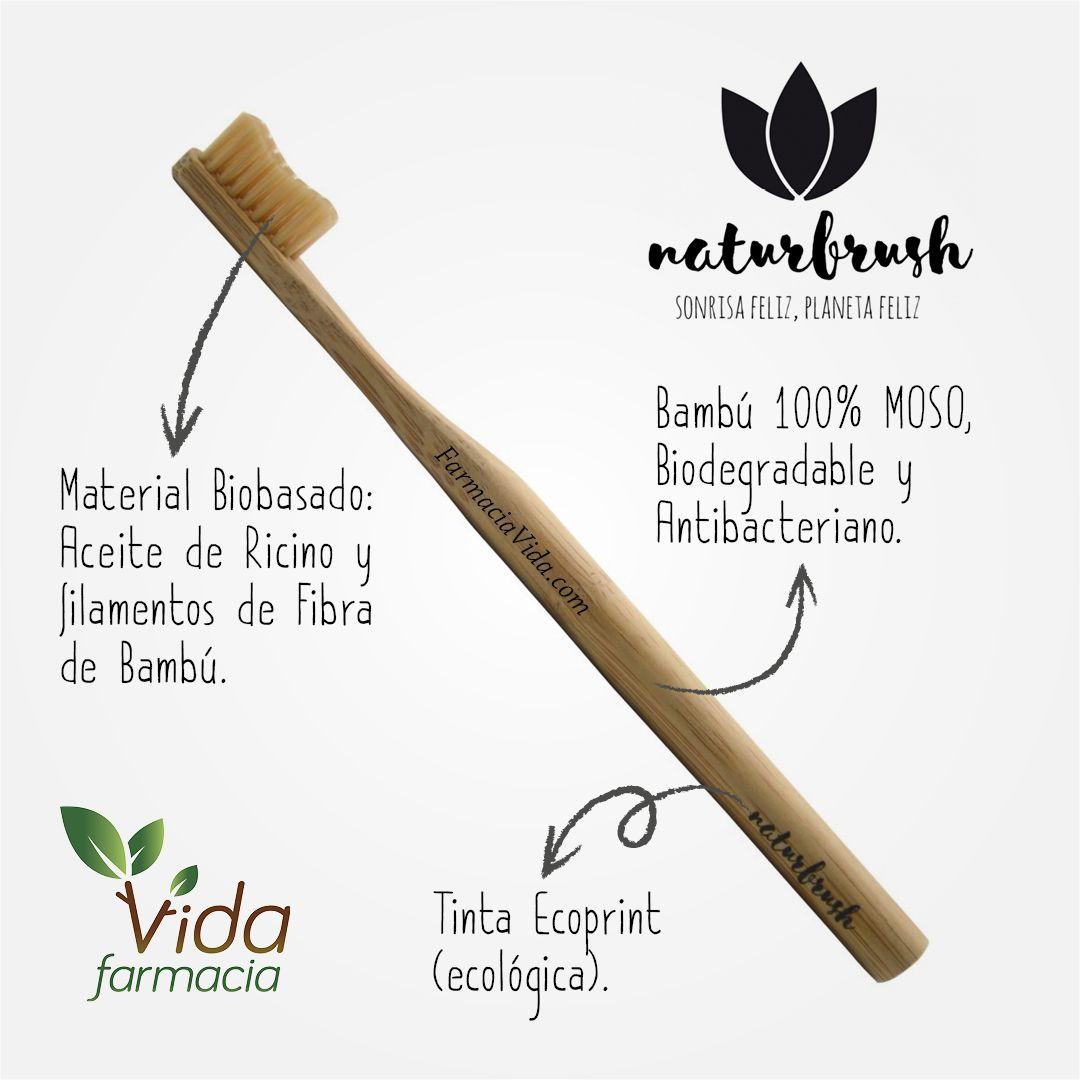Naturbrush Es La Primera Marca Española De Cepillos Dentales Biodegradables 100 Y Fabricados Con Bambú Mej Cepillos De Dientes Cepillado Dental Dental