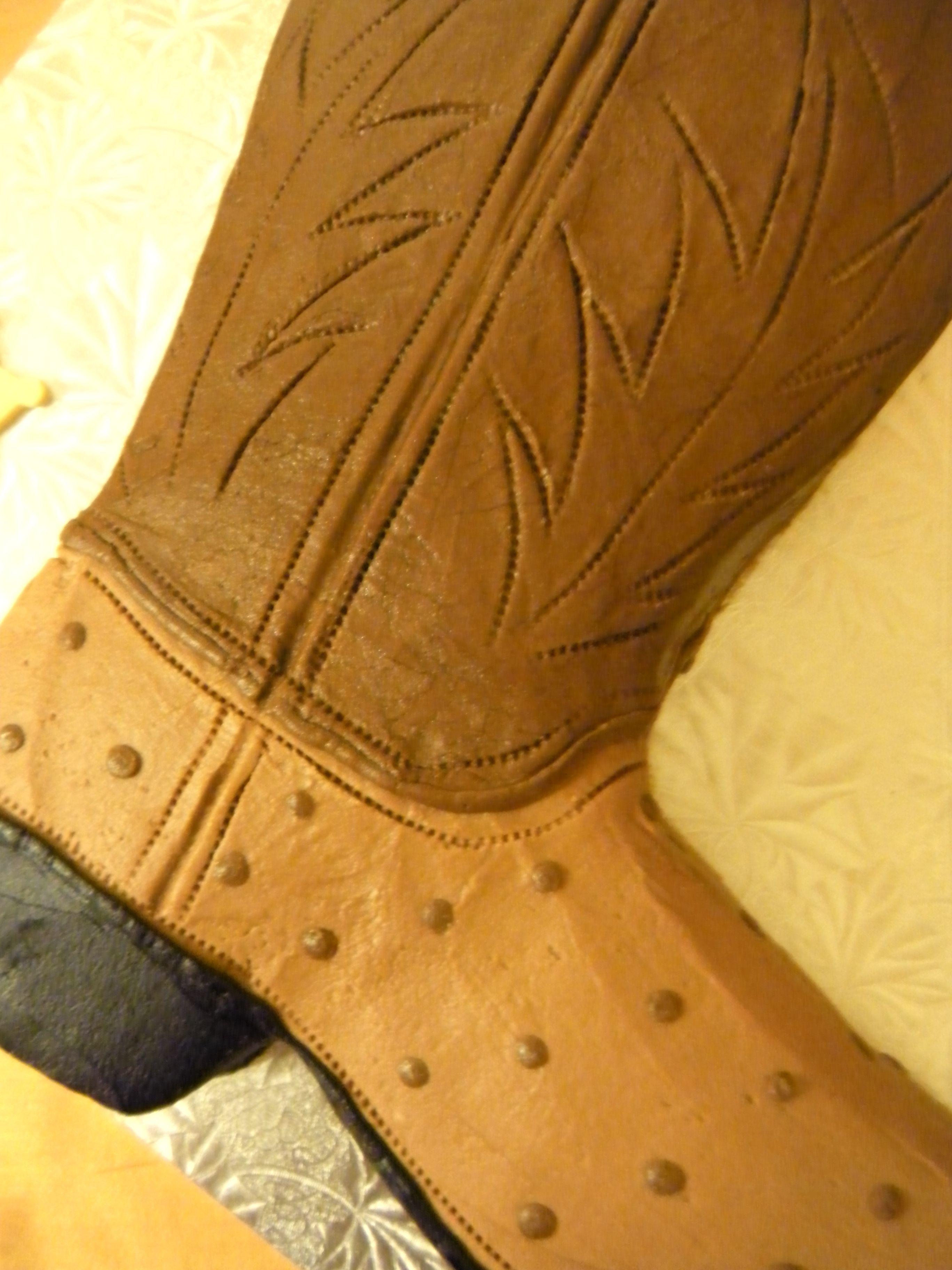 cowboy boot cake   Main Made Custom Cakes   Cakes   Pinterest ...
