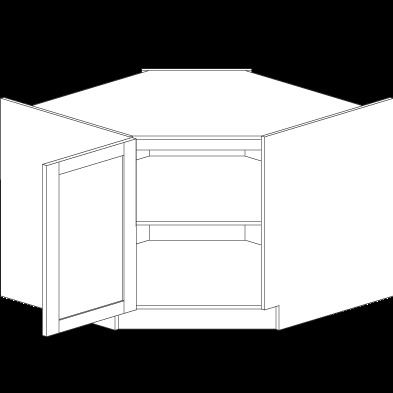 42 Quot Diagonal Corner Sink Base Kitchens Product Catalogue Euro Rite Cabinets Ltd Corner Sink Corner Base Cabinet Kitchen Redesign