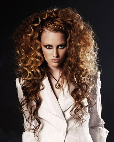 Long Big Curly Hairstyle Wallpaper High Definision Love Love