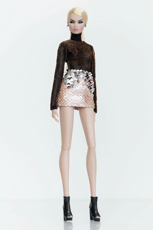 AQ/AQ Facet Mini Dress | Nudevotion.com