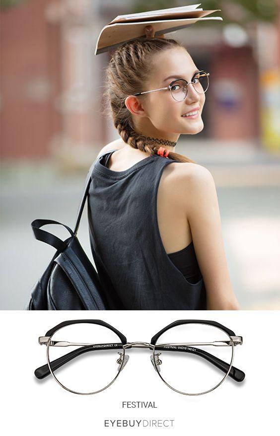 a1154323bf Festival eyeglasses in Black