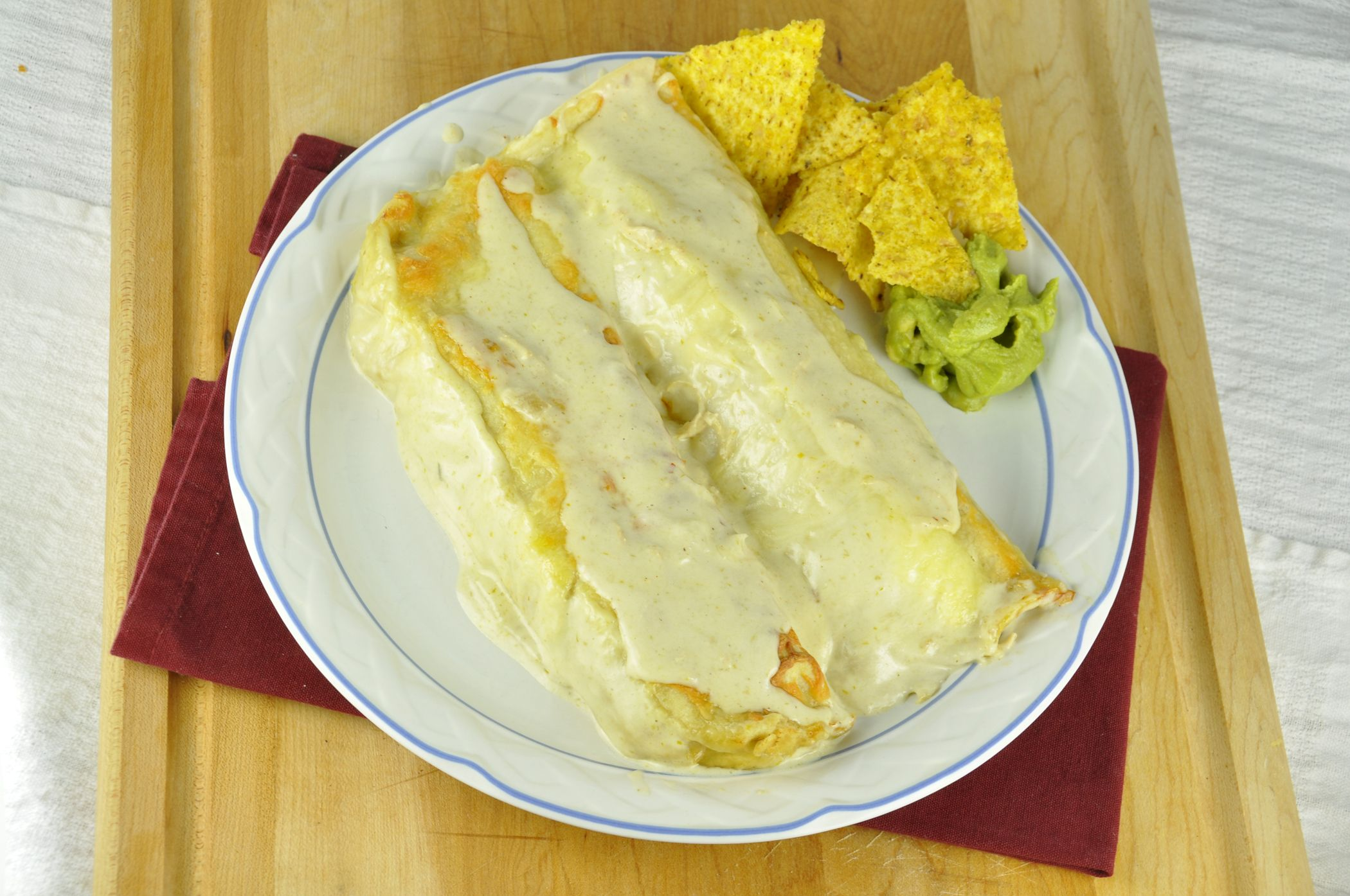 Honey Lime Chicken Enchiladas | Wishes and Dishes
