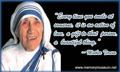 Mother Teresa Quotes On Mercy Quotesgram Mother Teresa Quotes