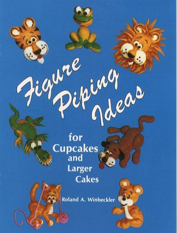 Figure Piping Strategies for Cupcakes