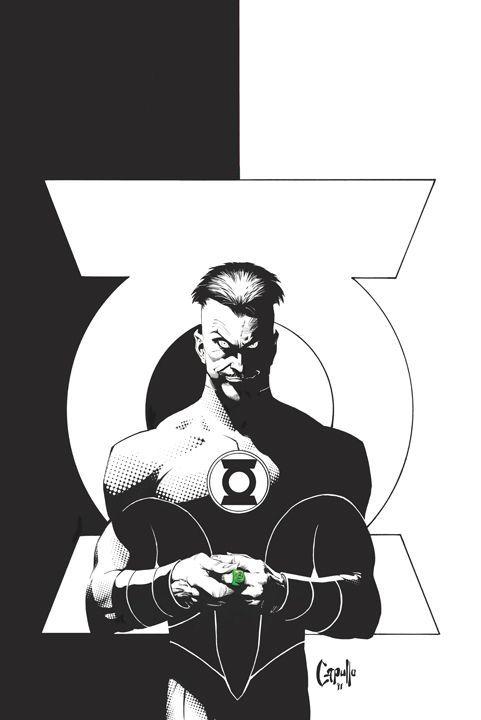 Green Lantern #1 variant cover by Greg Capullo - Geek Art.... #comics #art