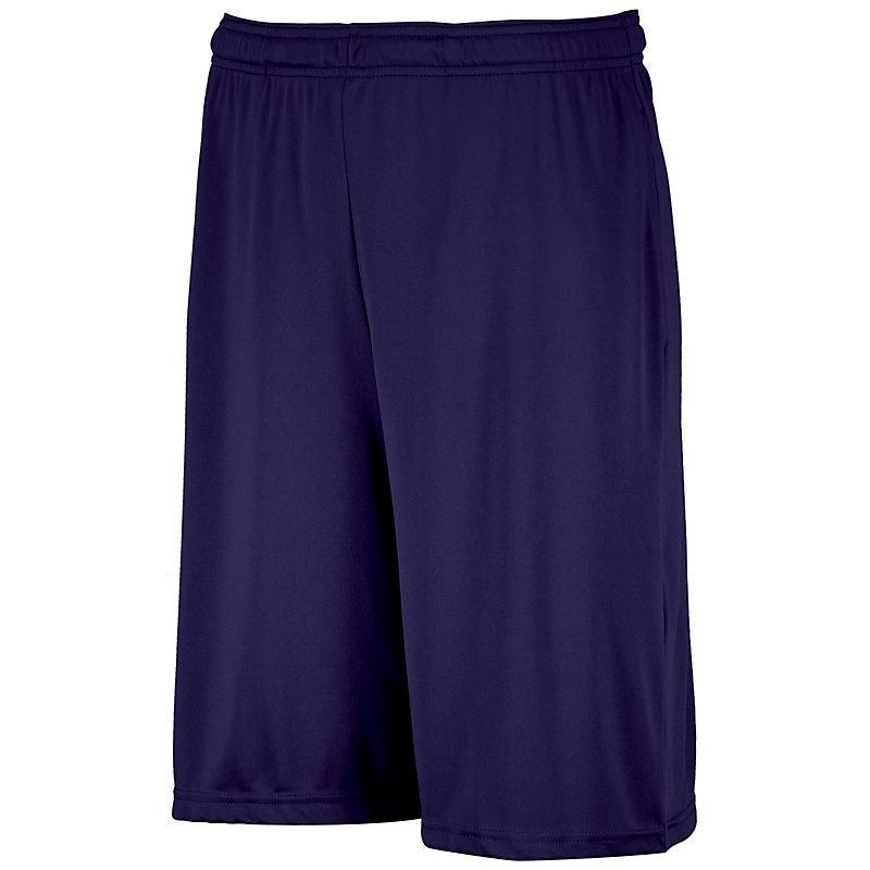 The Russell Athletic® Dri-Power® Essential Performance Shorts with Pockets are made with our patented Dri-Power® moisture-wicking technology keeping you dry and cool.These lightweight men's shorts will keep you comfortable while you're working out in the gym, playing basketball with your buddies or just relaxing at home on a hot day. 4.0 ounce, 100% polyester interlock Dri-Power® Moisture Wicking Technology