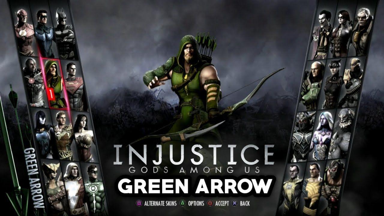 Injustice Gods Among Us Ps3 Green Arrow Injustice Green Arrow God