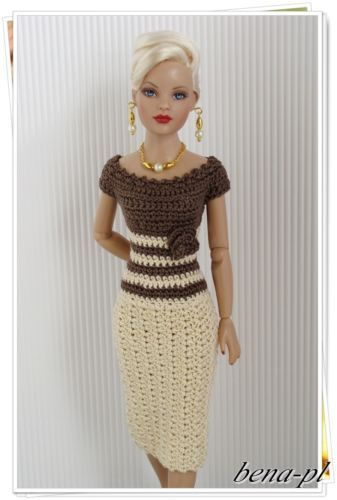 Idees Gia Ola 70 Ideas For Knit Clothes For Dolls Barbie Barbieee
