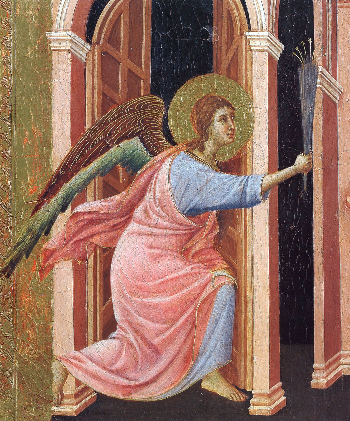 Annunciation(Fragment), 1308-1311 - Duccio