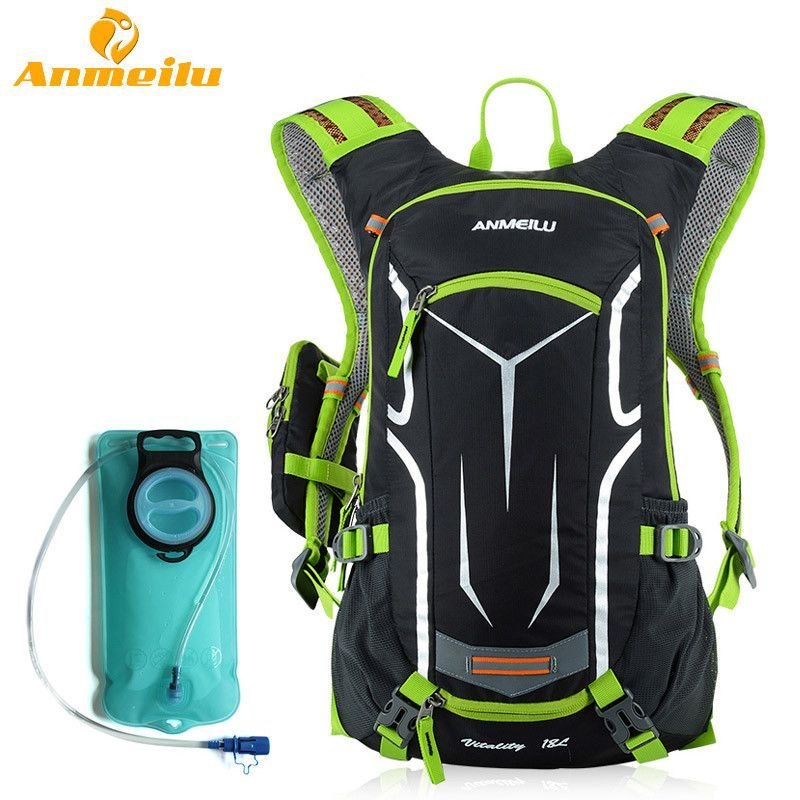 db83cbaf62c4 ANMEILU 18L Waterproof Camping Backpack +2L Water Bag Outdoor Sports  Climbing Riding Cycling Travel Bag