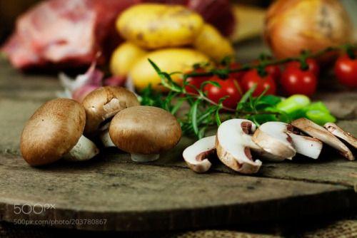 Fresh mushrooms by CanEddy70  IFTTT 500px