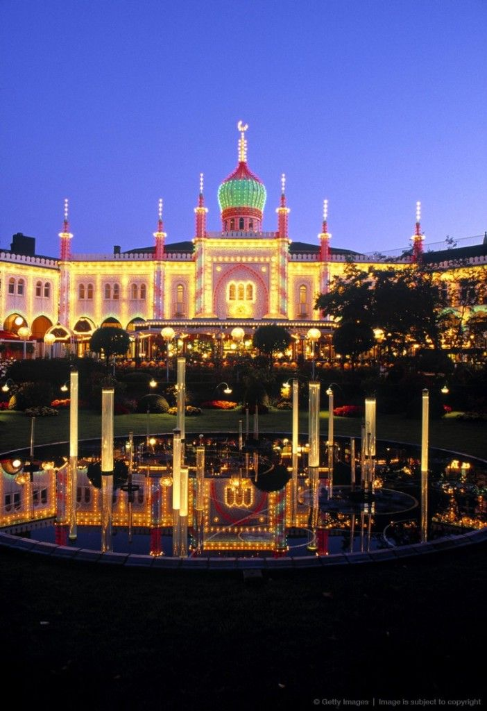 Tivoli Gardens Copenhagen Denmark Going to Copenhagen for a quick layover in July!