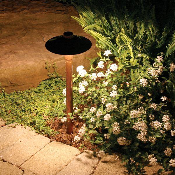 Copper Landscape Lighting Landscape Lighting Design Garden Path