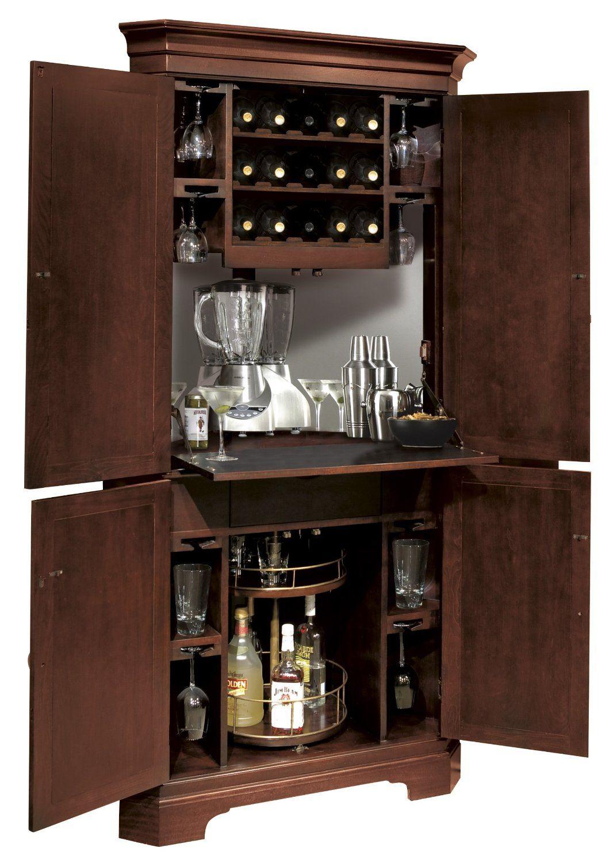 Amazon Com Norcross Bar Cabinet Furniture Decor Wine Bar