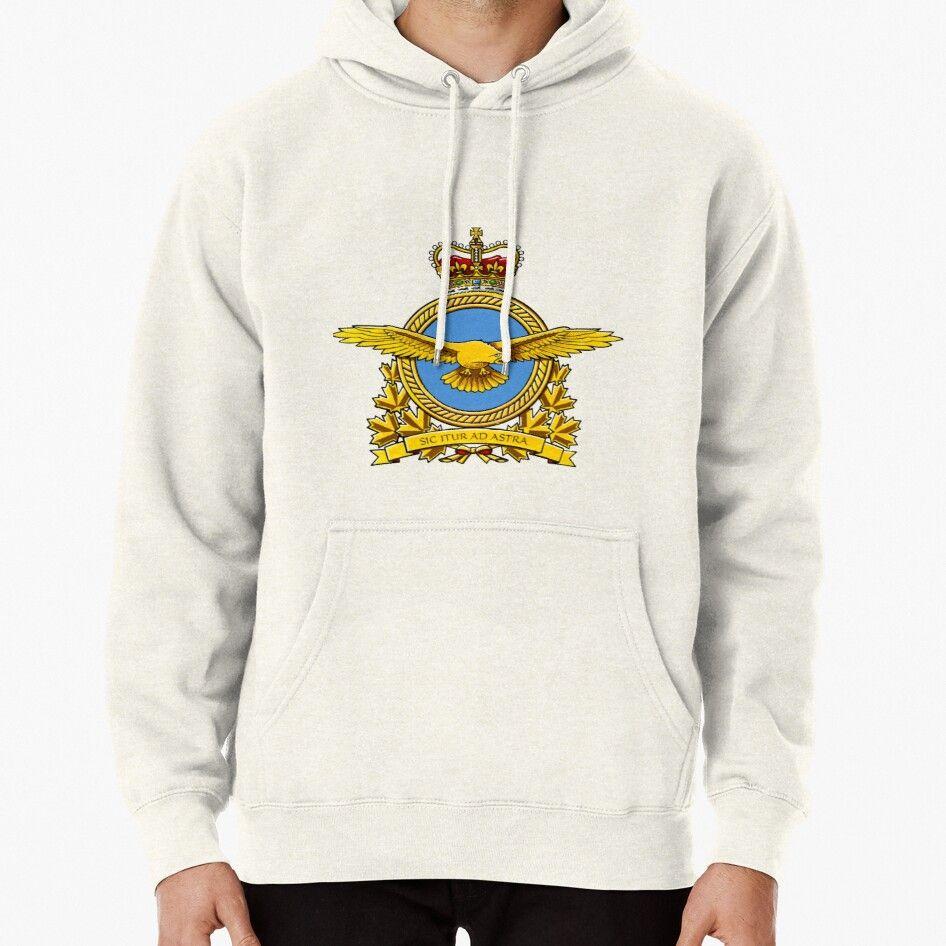 Royal Canadian Air Force Badge Pullover Hoodie Air Force Badge Hoodies Pullover Hoodie [ 946 x 946 Pixel ]