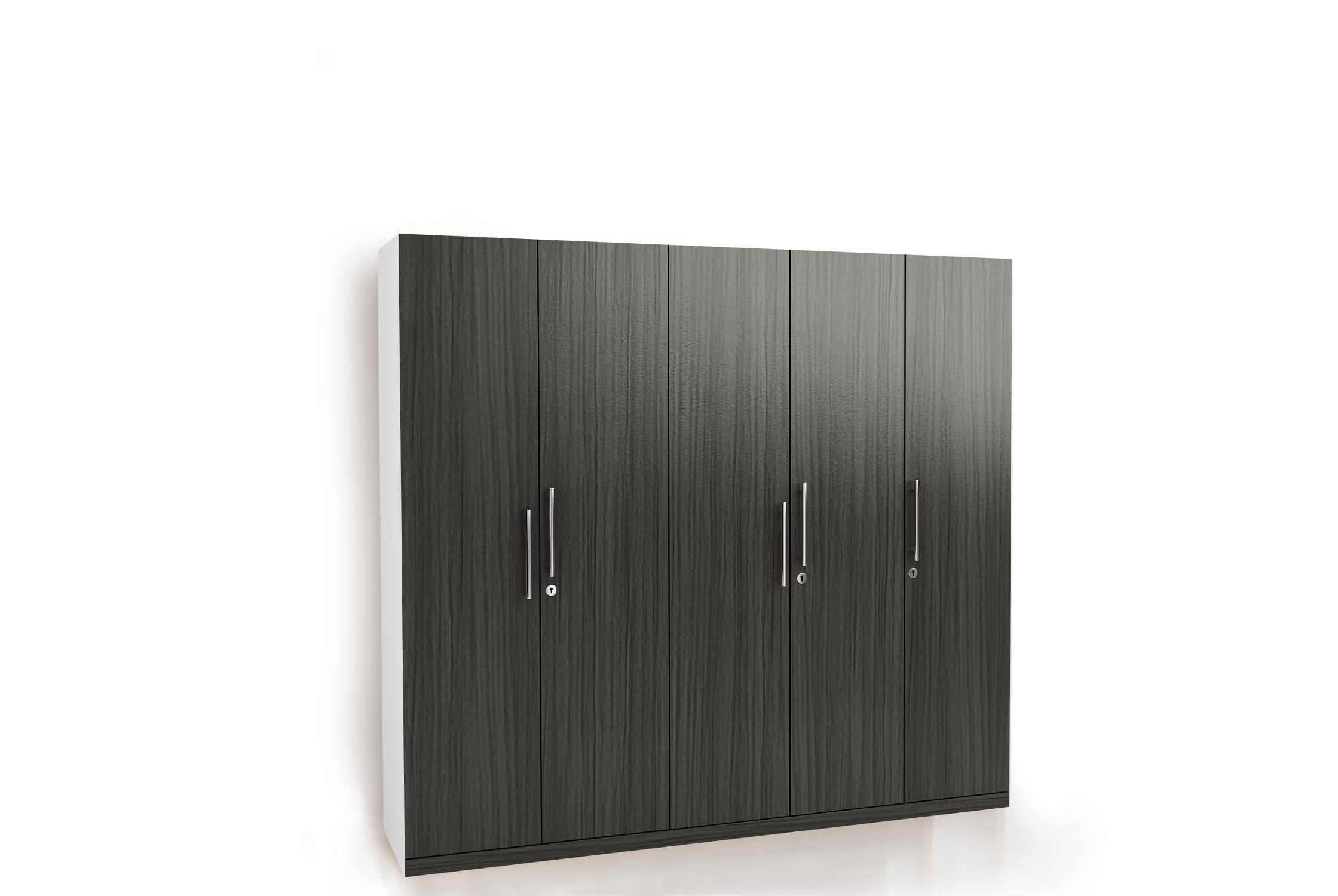 Vinderup Garderob 3 Vrati 3 Chekmed Byal Jysk Locker Storage Bedroom Cupboard Designs Tall Cabinet Storage