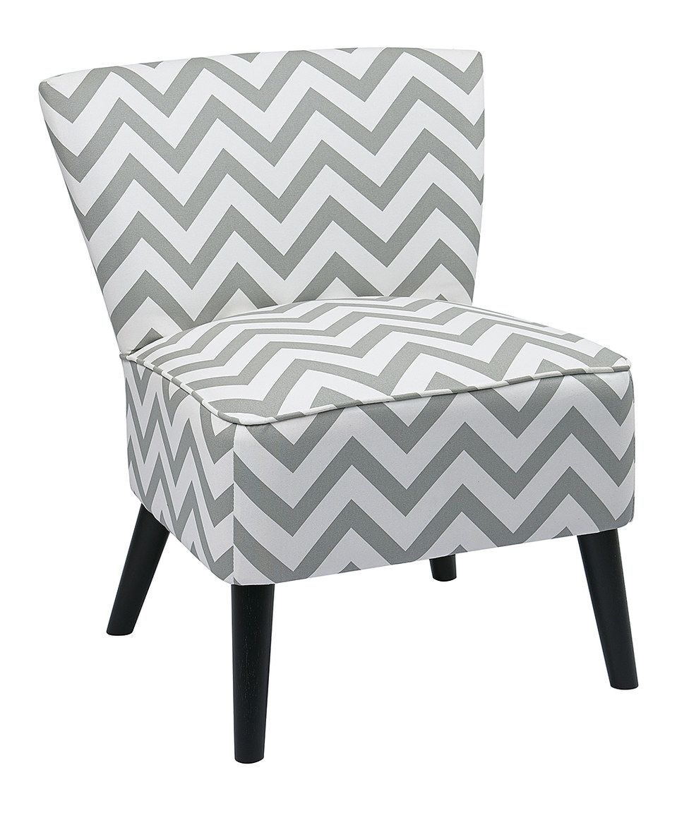 Another great find on zulily gray zigzag apollo chair by