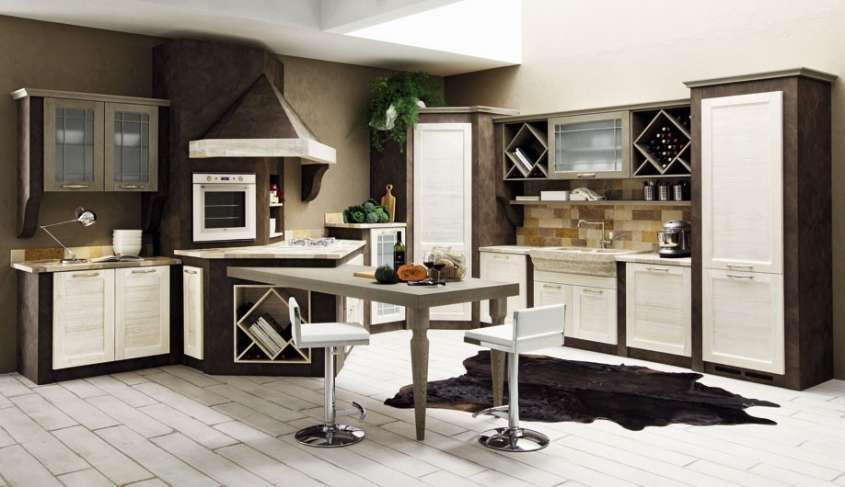 Cucine in finta muratura | Cucine | Pinterest | Kitchen, Sweet home ...