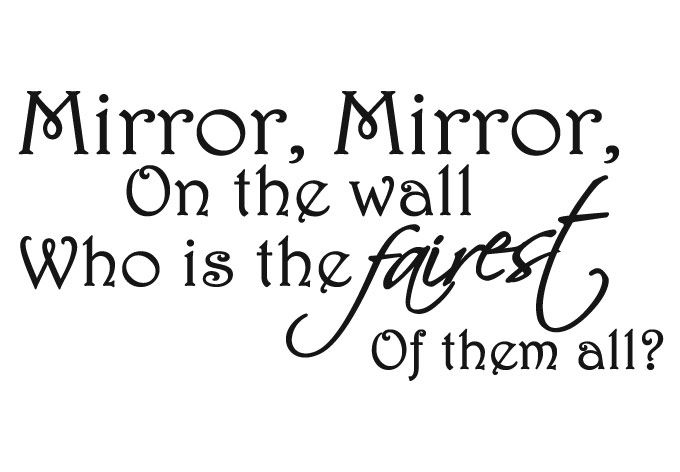 Mirror Mirror On The Wall Snow White how about who is the healthiest of them all? a new mirror could