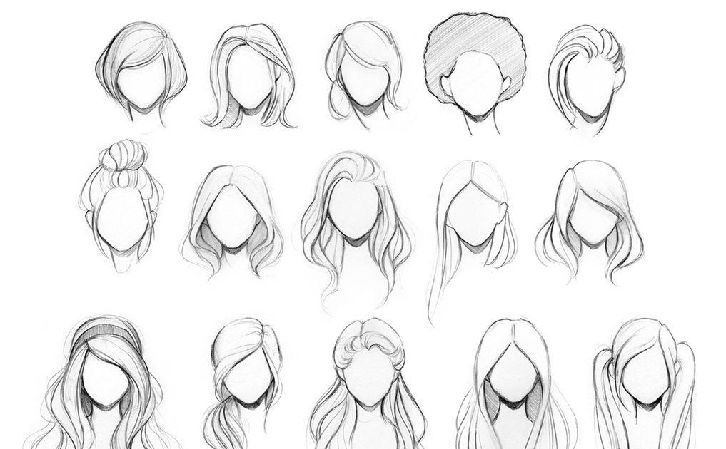 Pin On Art Photography Art Bun Hairstyles Drawing 30 Updo Hairstyles Drawings Huge Collection Of Boy Hairstyl Easy Hair Drawings How To Draw Hair Hair Sketch