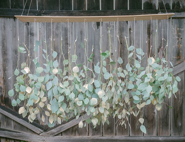 Diy Eucalyptus Chandelier From Gather Events Inspired By This