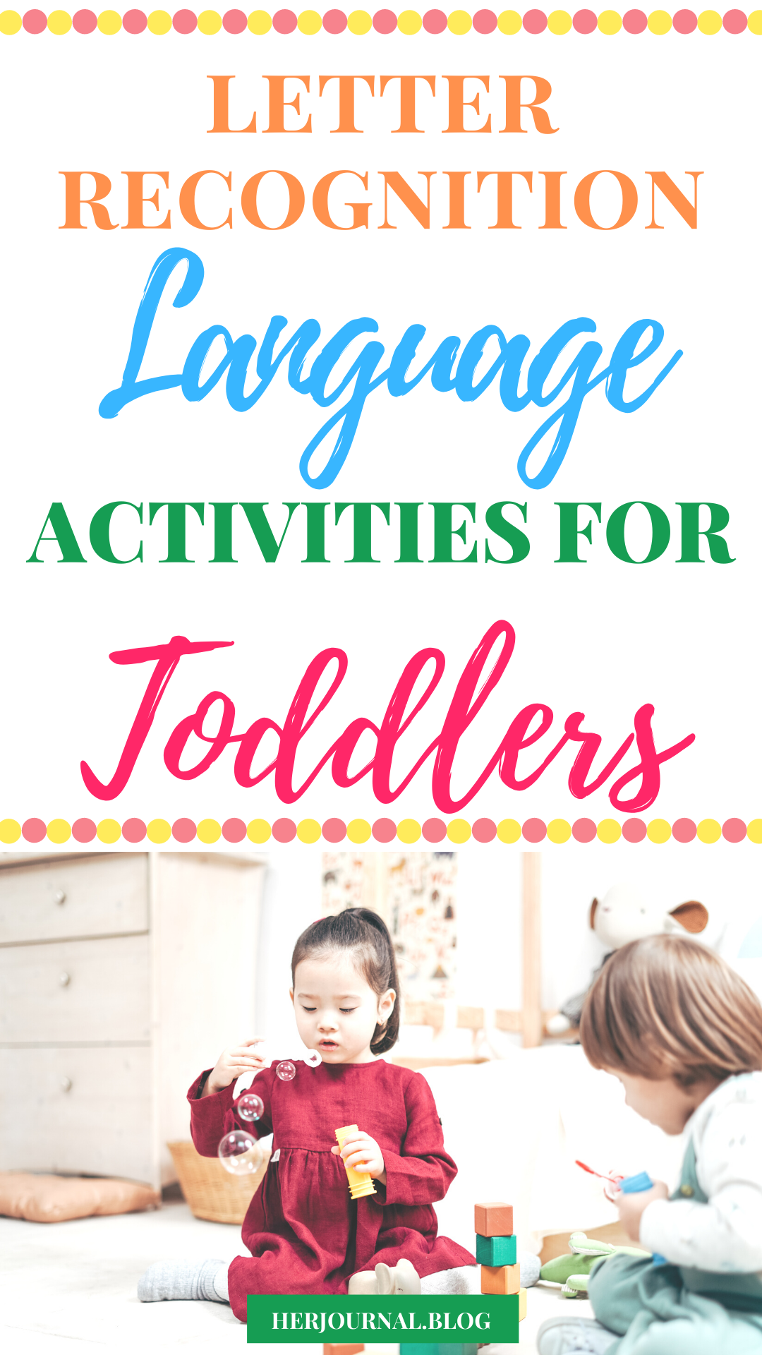 Photo of Letter recognition learning activities for toddlers- Help your toddler begin the…