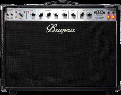 Bugera 6260-212 combo - Depois de pesquisar sobre ele foi pro meu painel de guitarras