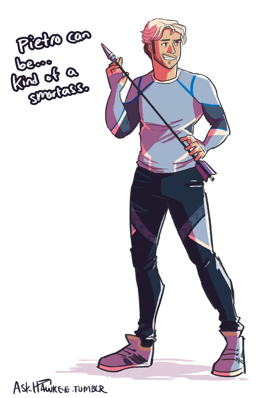 askblog of the world's greatest marksman. Clint Barton here. Feel free to shoot me any questions....
