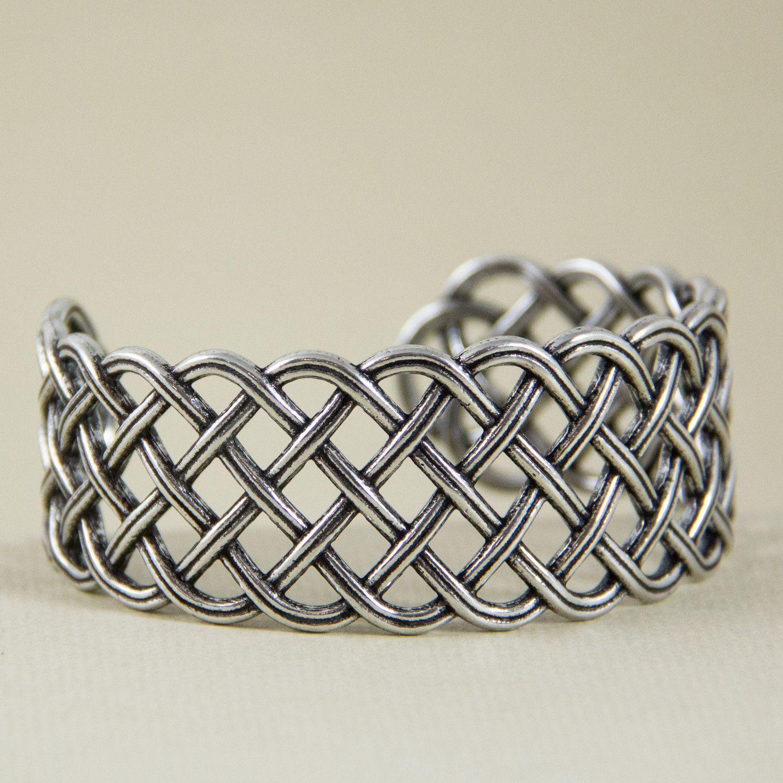 Bracelet | Celtic Weave | Metal bracelets, Bracelets and Metals