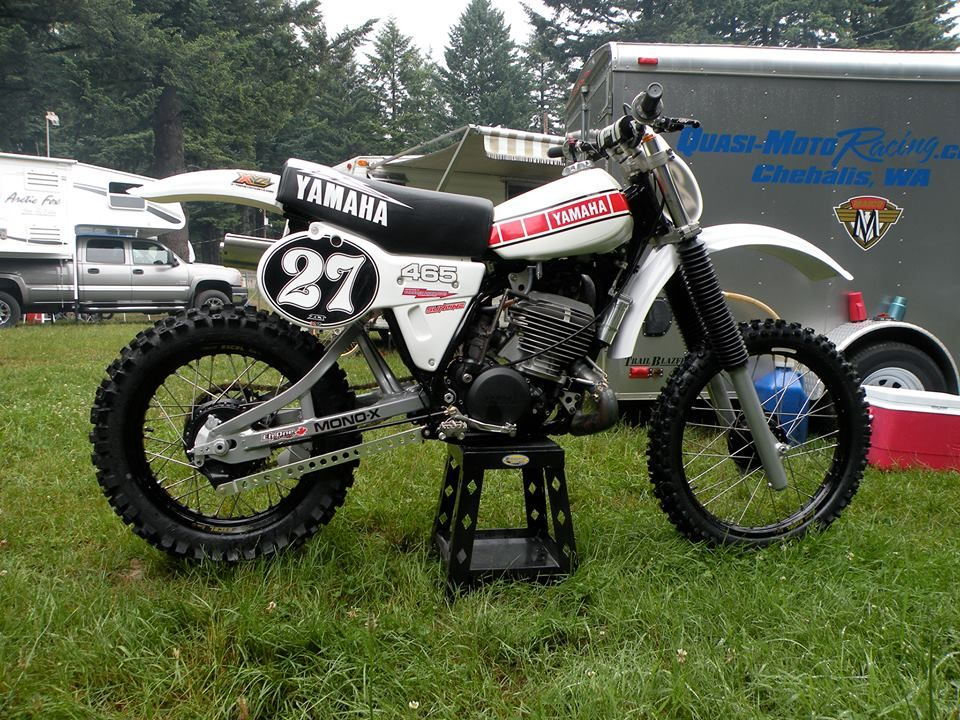1980 Yamaha Yz250 Euro Version Vintage Dirt Yamaha Motocross