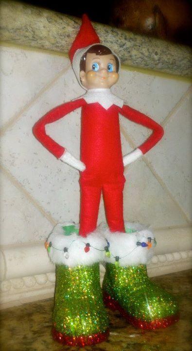 Arthur trying to fill Santa's boots! #ElfontheShelf