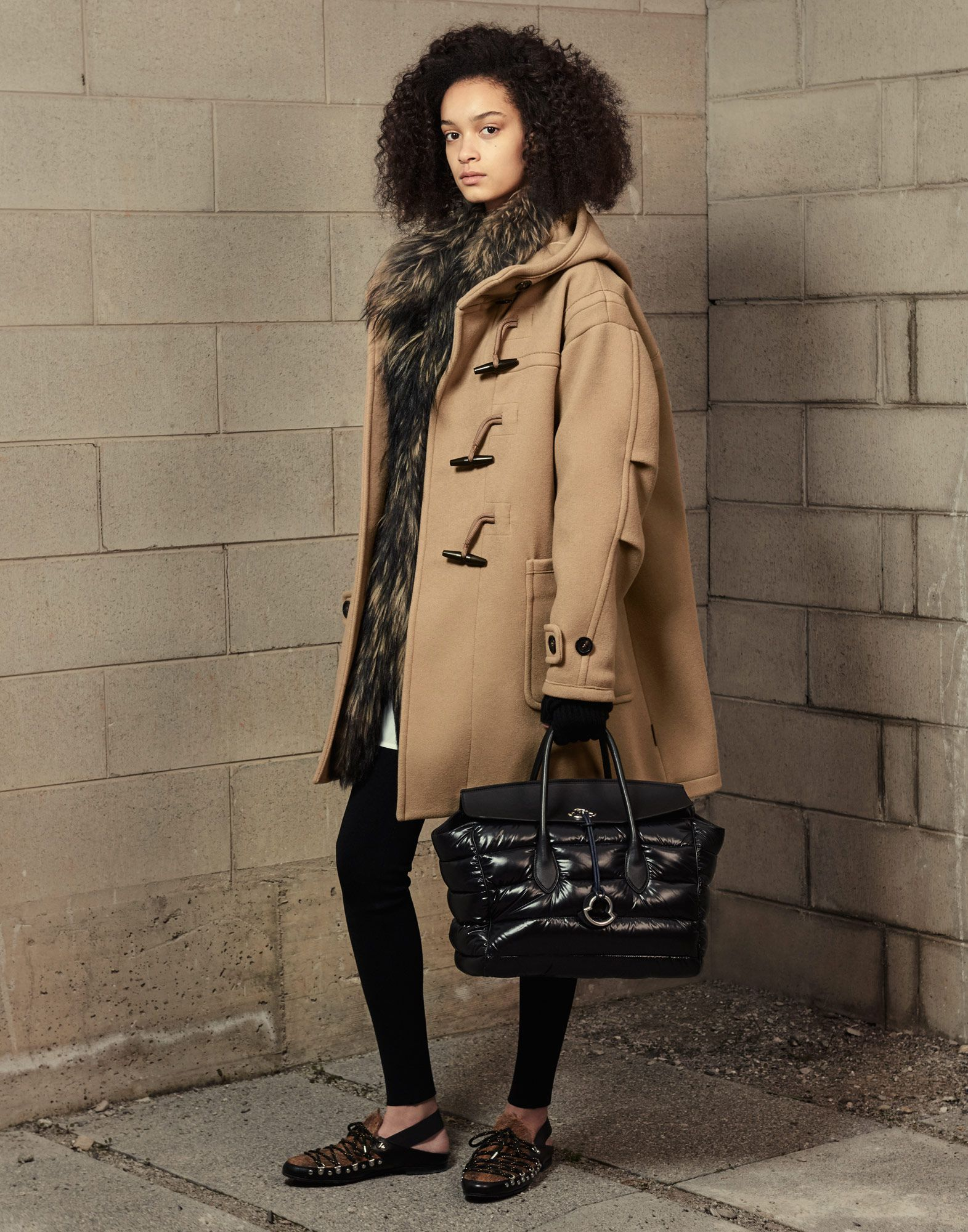 b113a1554 Moncler NARCISSUS in Coats for women | Official Online Store ...