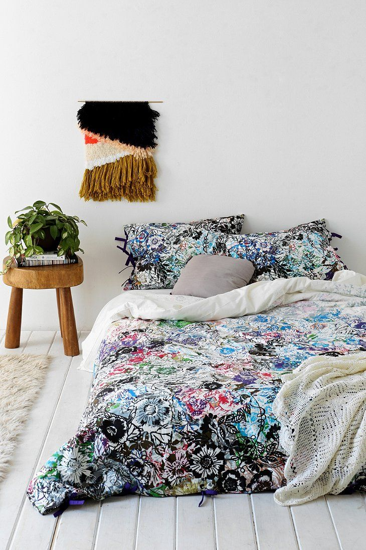plum bow disintegrating garden duvet cover feels like. Black Bedroom Furniture Sets. Home Design Ideas