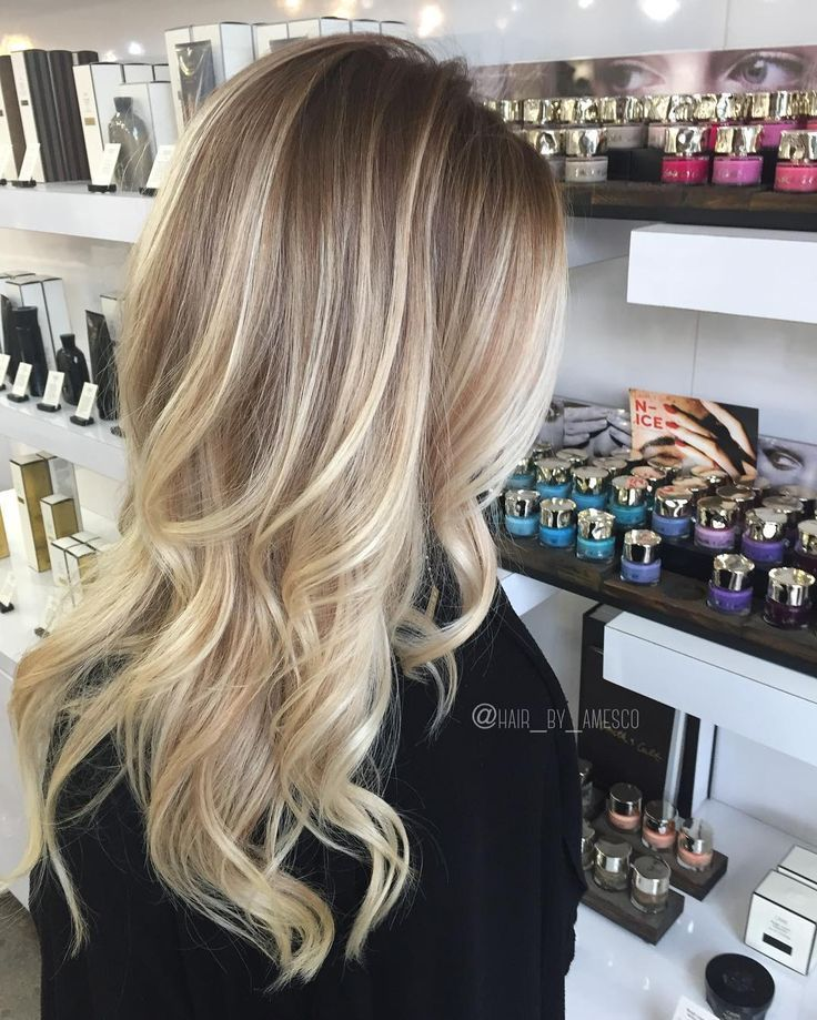 Stretching those roots with a few signature balayage pieces. . . . #modernsalon ...