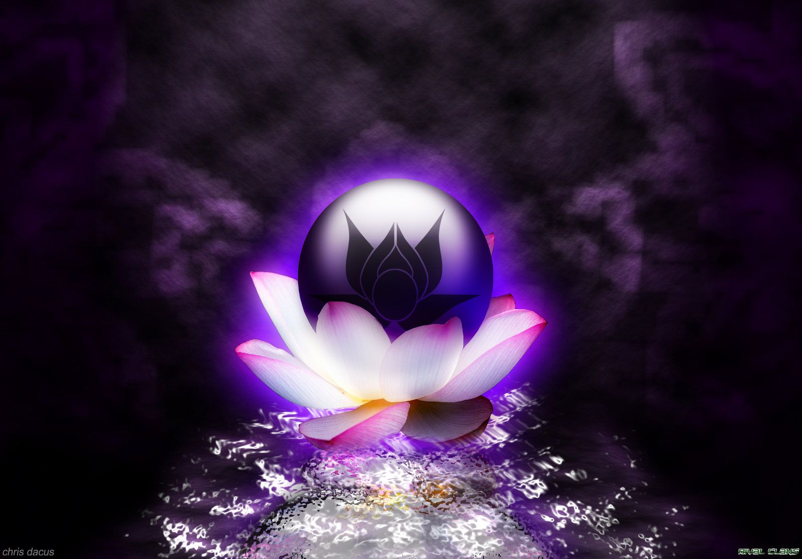 fantasy lotus images | THE LOTUS CLAN WALLPAPER by ~yangzeninja on deviantART