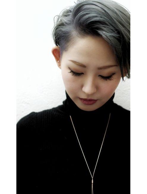 ヘルブラウ ヘアーデザイン Hellblau Hair Design クールショート
