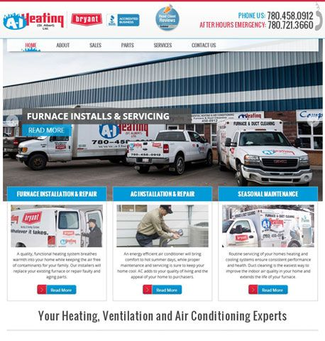 A 1 Heating Is An Hvac Contractor That Sells Installs Repairs
