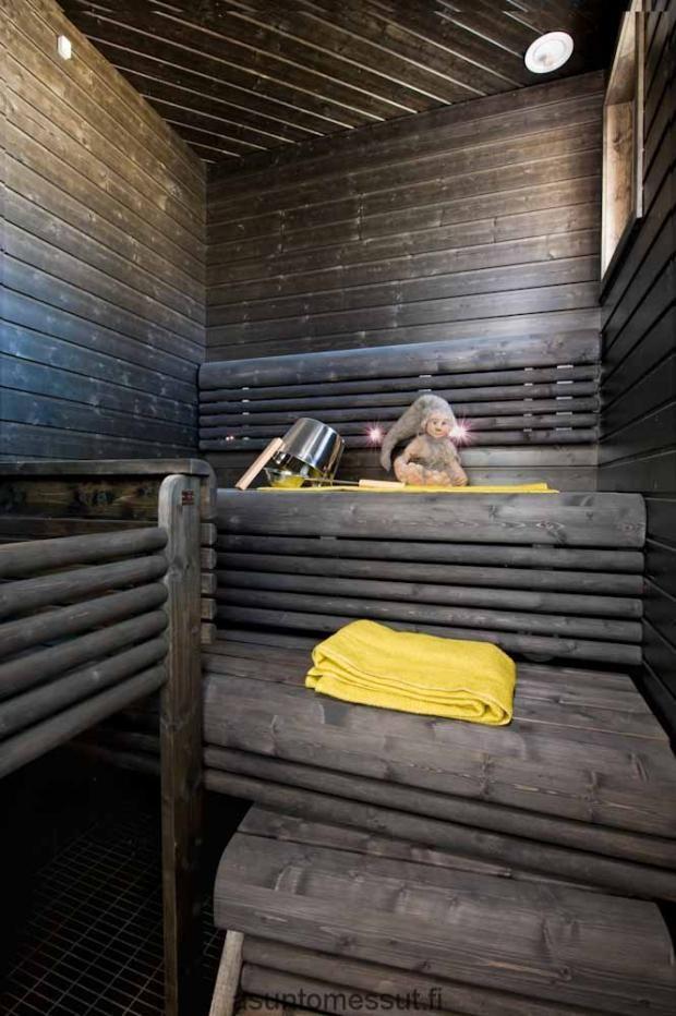 Tammisaari 166 Sauna Asuntomessut Sauna Room Finnish Sauna Sauna Steam Room
