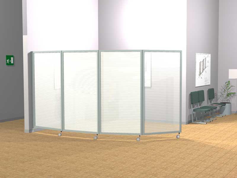 Ala roller light pannelli divisori pareti mobili for Pareti mobili da ufficio