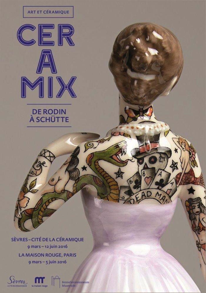 CERAMIX, de Rodin à Shütte, exposition à Sèvres - Cité de la