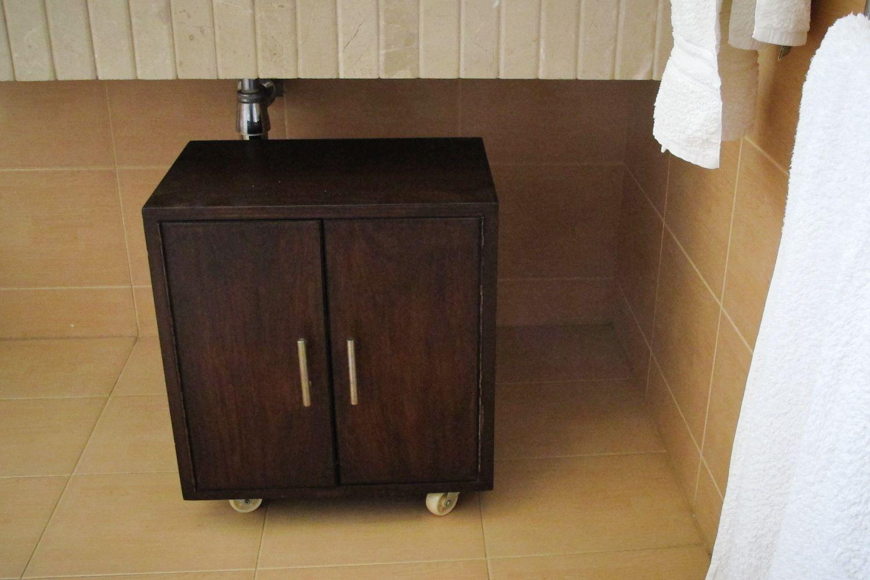 35+ Under bathroom sink free standing cabinet type